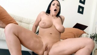 Big_breasted_Angela_White_rides_the_hard_rod_in_POV image