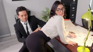 Small Hands found the butt plug in Ivy Lebelle's ass image