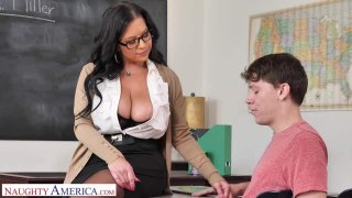Michelle Miller (Sheridan Love) teaches student how to fuck image