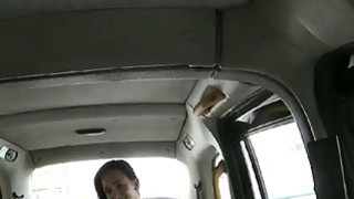 Pretty amateur customer deepthroats drivers cock to off fare image