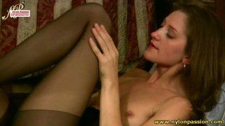 Flat_chested_brunette_ganya_makes_it_hot & slixter image