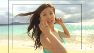 Oriental hottie China Fukunaga nude performance image