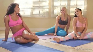 Squirting Stories: Wet Yoga image