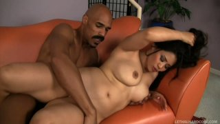 Hardcore interracial scene with Jessica Bangkok and Justin Long image