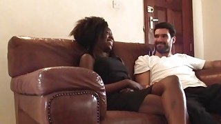 Outstanding amateur homemade sex_video with a beautiful ebony babe image