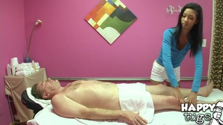 Teen Asian Rosemary is an expert of relaxation! image