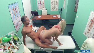Deep orifice exam at the cock doctor's office image