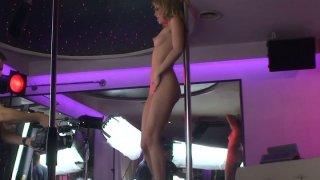 Behind the scene video with hot strip_dancer Blue_Angel image