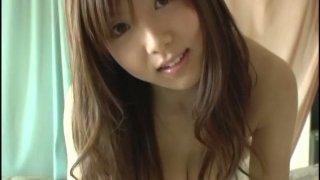 Unthinkable china teej: Extremely seductive china fukunaga flirting and creaming up boobs image