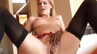 Horny milf eat hot sperm after hard anal sex image