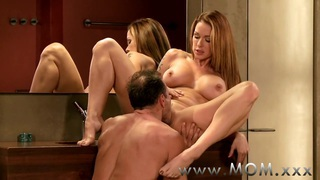 MOM MILF's with big breasts getting fucked image