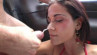 Miss raquel gets her ass fucked, face spermed - asian fuck faces Porns image