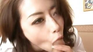 Maki Hojo amateur hardcore with a masked stranger image