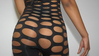 Juicy phat black pussy gets fucked in her brand new outfit image