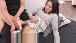 JAV taboo sex game married woman cuckolding Subtitled image