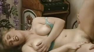 Busty amateur blonde GF sucks_and fucks with cum image