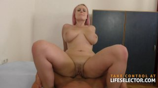 Angel Wicky Lesbian Fucked by Big Dick image