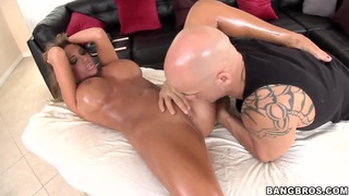 Hot brunette Richelle Ryan_visit her private masseuse to relax and fuck image