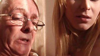 Old Young Porn Grandpa likes to fuck young girls image