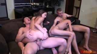 colmek di kamera Online video: Perfect double date with swinger_sex - foxy di image