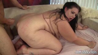 Juicy BBW Becki Butterfly Gets Her Pussy Properly Eaten and Plowed image
