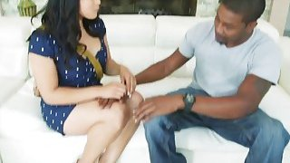 Cute Asian Girl Mia Li Gets Asshole Expanded By Massive Black Dick image