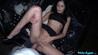 Coco Kiss gets help with her broken car and wet pussy image
