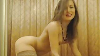 Pretty Gorgeous Cam Girl Do Dildo Masturbation image