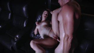 ExxxtraSmall - Hot Teen Fucks Stepbro_In Movie Theatre image