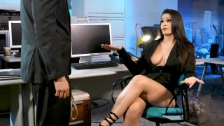 Employee suggests Bondage Sex with Boss image
