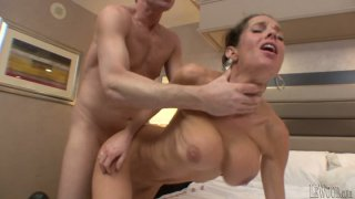 Nice threesome with Francesca Le, Mark Wood and Veronica Avluv image