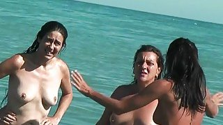 Image: Our first time at a nude beach real nude beach video