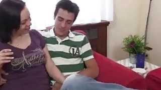 Hotmoza.com - Cock hungry mom spreads her legs for son in law image