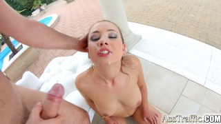 Image: Taylor Sands cock sucking and ass fucking