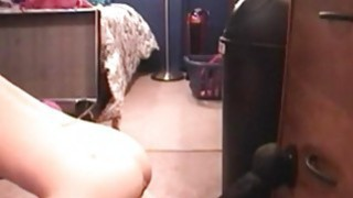 Teen like it big_black_toy in pussy on webcam image