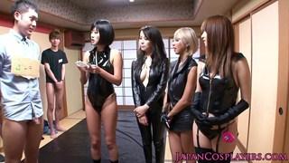 Japanese ejaculation competition image