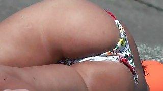Image: Oops accidental nudity on the beach new nudist nude beach video