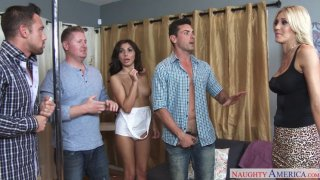 Audrey Show,Brittany Bliss,Ryan Driller Naughty Weddings image