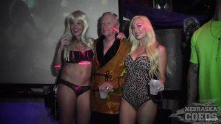 Fantasy Fest 2014 Night Club Hot Body Contest Hosted_by Ron Jeremy - NebraskaCoeds image