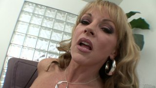 Curious mature blondie Shayla Laveux gonna have her pussy licked tonight image