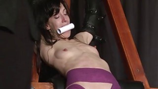 Extreme slave Elise Graves tit tormented and elect image