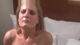 Slut Wife Creampied by Rough BBCs_in Boston Hotel image