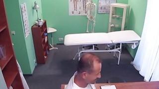 Petite big ass patient bangs her doctor image