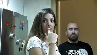 A very sexy Latin real estate agent gets fucked hard by her horny client image