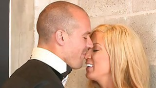 MILF stepmom and her date have sex with a horny teen image