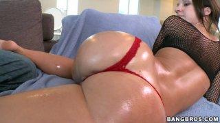 Image: Fantastic and slutty wanker Jada Stevens stimulates her clit