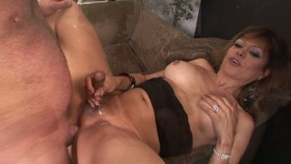 Mature shemale slut Johanna B gets banged brutally deep in her asshole image