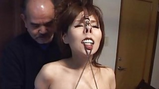 Subtitles CMNF Japanese BDSM nose hooks and more image