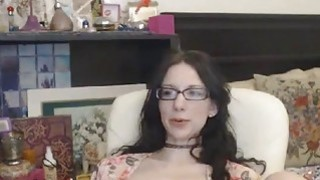 Image: CUMWITHSLUTS COM Nerdy StepDaughter on Cam