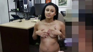 Cute desperate college_chick gets_fuck for money image
